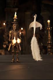 Lumiere And Plumette From Beauty The Beast